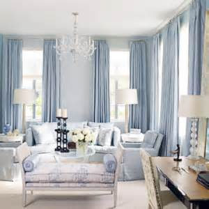 Blue And White Rooms Living Rooms by Rideaux Decobyemy
