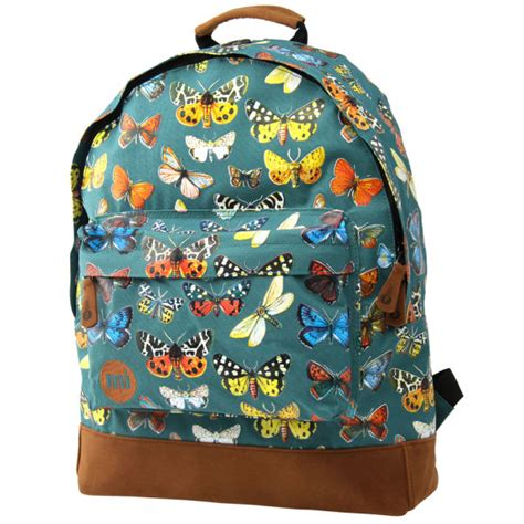 Backpack Butterfly mi pac butterfly backpack forest green