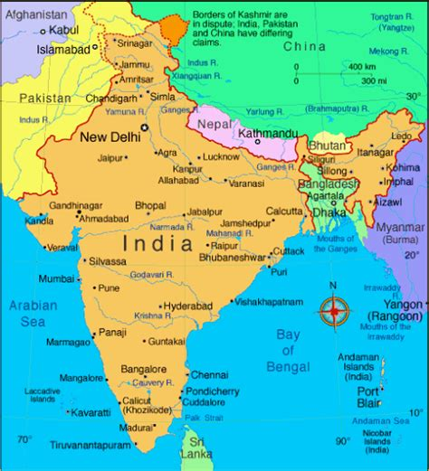 Ancient Countries That Used Detox by Map Of India Read About India And View India Map