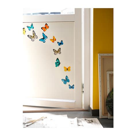 Ikea Wall Art Stickers sl 196 tthult decoration stickers butterflies ikea