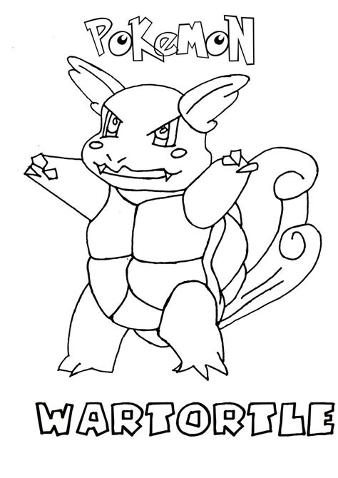 pokemon coloring pages wartortle free coloring pages of water pokemon