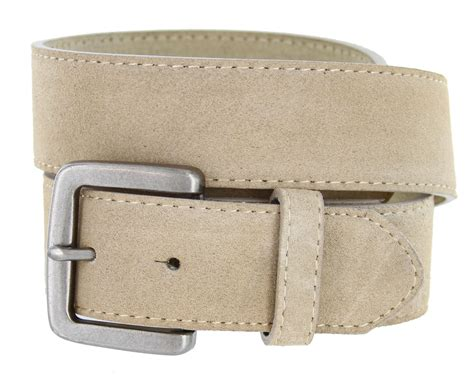 suede leather casual jean belts 1 1 2 quot