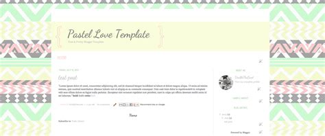 double tha love free blogger template