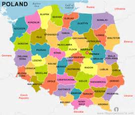 Poland On World Map by Poland Map World World Map Weltkarte Peta Dunia Mapa