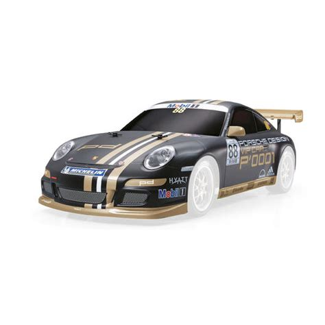 Tamiya Lexan Karosserie Lackieren by Tamiya 1 10 Lexan Karosserie Porsche 911 Gt3 Cup Vip 2007