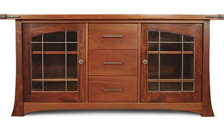 Craftsman Media Cabinet by Craftsman Style Media Cabinet Finewoodworking