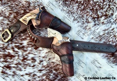 cochise leather leather goods western gun holsters and gun rigs