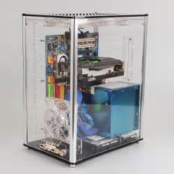 Pc Case Diy qdiy pc a009 atx transparent computer case pc case water