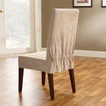 Sure Fit Soft Suede Shorty Dining Room Chair Slipcover by 1000 Ideas About Slipcovers For Sofas On Sofa