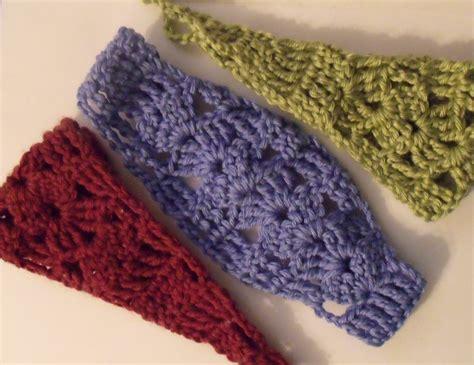 pattern to crochet a headband andromeda s fibers studios easy shell headband pattern