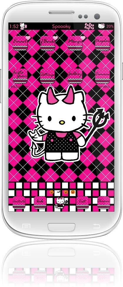 themes go keyboard hello kitty pretty droid themes spooky hello kitty theme for go