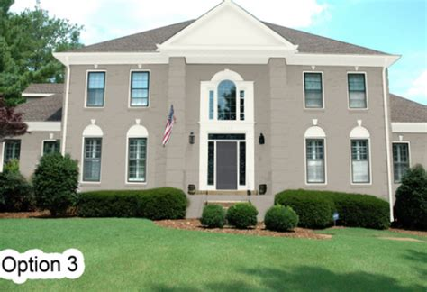 virtual exterior house painter the real life results of a virtual exterior paint color