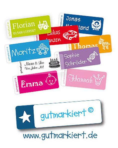 Textil Aufkleber Namen by Gutmarkiert Etiketten Und Aufkleber Im Test Kidsgo