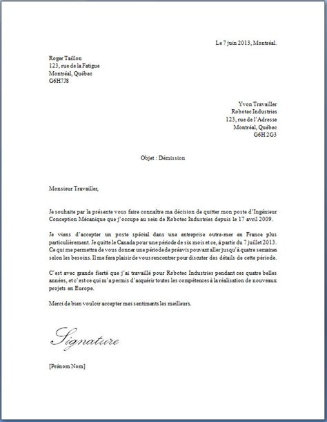 Exemple De Lettre De Démission Tunisie Lettre De Demission Retraite Application Letter