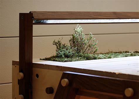 desk garden love hulten s senescent desk comes with an enchanting self sufficient garden built in 6sqft