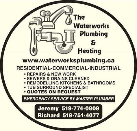 Waterworks Plumbing And Heating by Budd S Waterworks Plumbing Heating Brantford On 7 Sigurd Crt Canpages