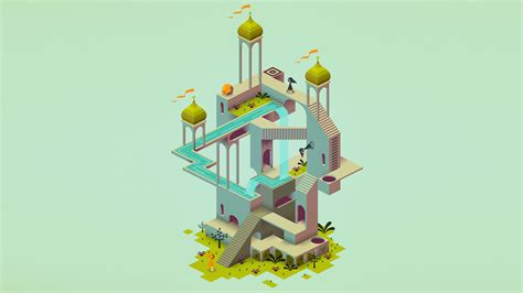 wallpaper monument valley game monument valley caledonia full hd 壁纸 and 背景 1920x1080