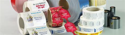 Etikettenrolle Bedrucken by Rollenhaftetiketten Etiketten Druckerei Etiketten