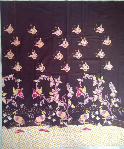 Batik Bangau Tulis batik tulis motif pesisir pantai motif alam desainer
