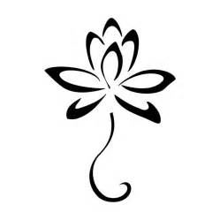 Simple Lotus Drawing Lotus Flower Sketches Clipart Best