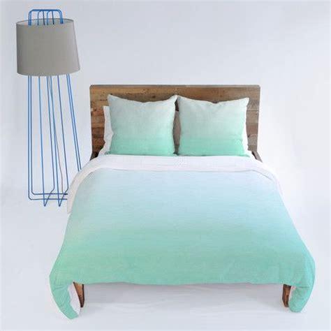 mint blue bedding social proper mint ombre duvet cover mint duvet and ombre