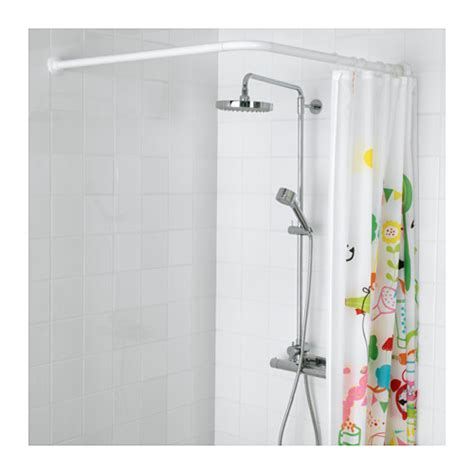 shower curtain rod ikea vikarn shower curtain rod white ikea