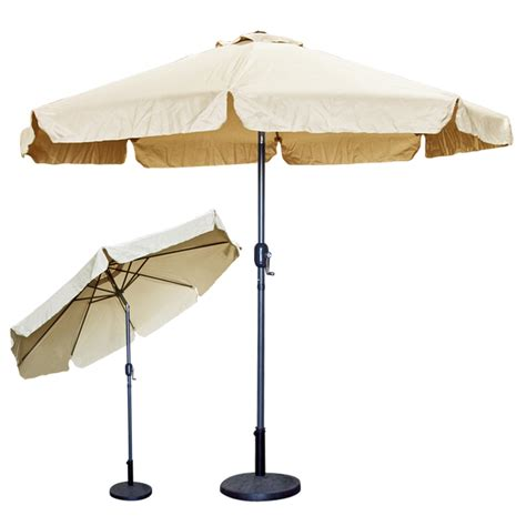 Patio Umbrellas Bases Beige Tan Kmart Kmart Patio Umbrellas