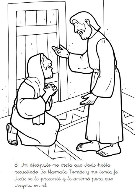 coloring page for doubting thomas 20 best images about doubting thomas on pinterest clip
