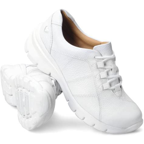 white nursing sneakers softspots mates womens white 257104 leather