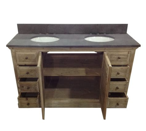 Recycled Bathroom Vanities by Infurniture Solid Recycled Fir 60 Traditional Sink