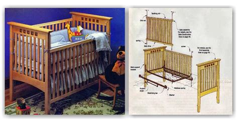 Baby Crib Design Plans by Baby Crib Plans Woodarchivist