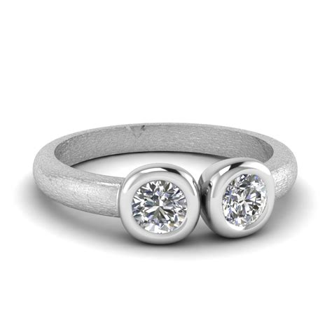 Two Engagement Rings by Engagement Rings Two Rings Fascinating Diamonds