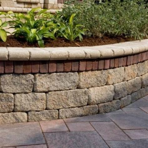 Unilock Wall Installation estate wall retaining walls pavers retaining walls niemeyer s landscape supply