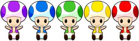 mario colors mario toads dolls all colors by kiironekosand on