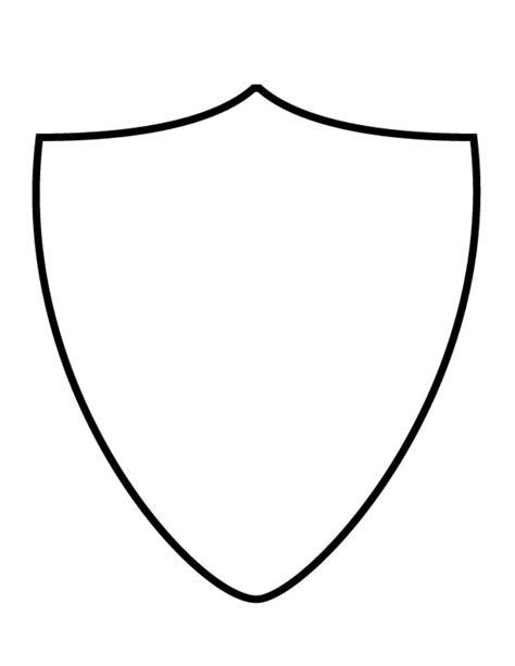 crest shield template coat of arms shield template clipart best
