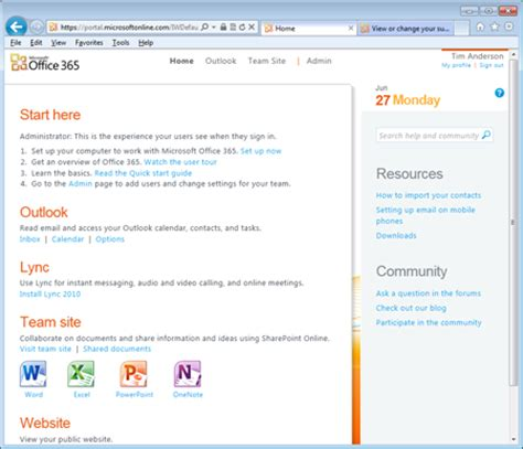 Office 365 Portal Apps V Microsoft Office 365 Rumble In The