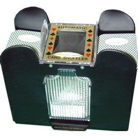 Blackjack Card Shuffler Template by 4 Deck Automatic Card Shuffler For Blackjack