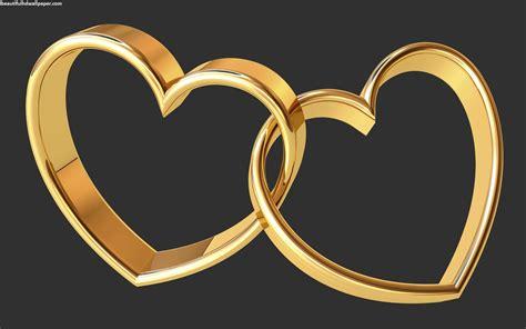 golden couple have big hearts gold hearts wallpaper wallpapersafari