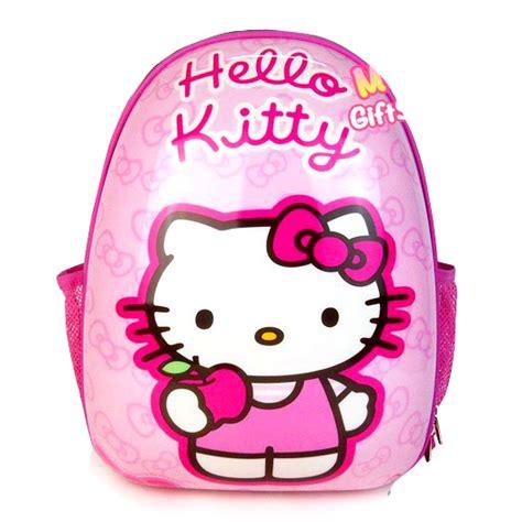 Tas Ransel 2 Resleting Hello Large 35cm 1 tas telur egg bag tk dan sd toko bunda