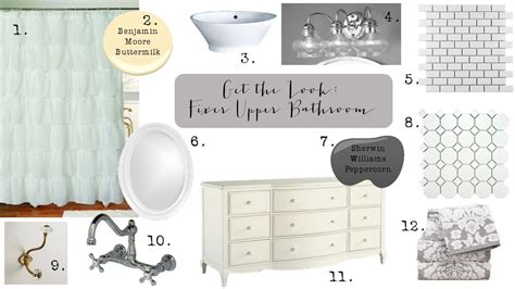 get on fixer get the look fixer bathroom 2nd edition house