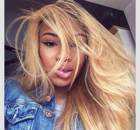 blonde hairstyles black girl honey blonde golden brown golden blonde hair lipstick