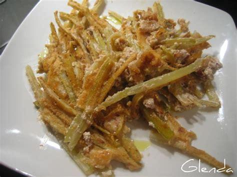 sedano fritto baked celery