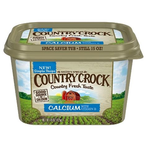 country crock 174 calcium vegetable oil spread tub 15 oz target