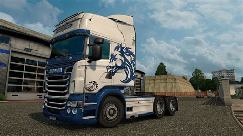 truck indianapolis indianapolis colts skin for scania rjl ets 2 mods