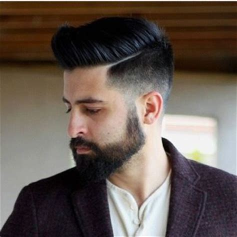 pompadour hairstyle with beard a guide to the modern pompadour hairstyle