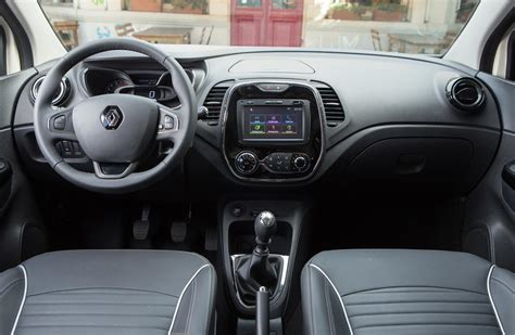 renault captur interior at renault captur arranc 243 la preventa en mega autos