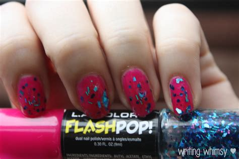La Nail Colorpop la colors flash pop nail best nail 2017