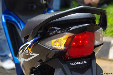 Batok Belakang Supra X 125 Helm In Original Ahm hsx 125 fi 0053 tmc motonews