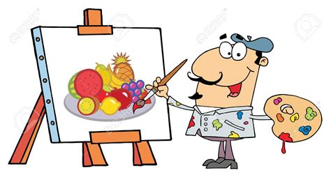 artists clipart artist at easel clipart collection