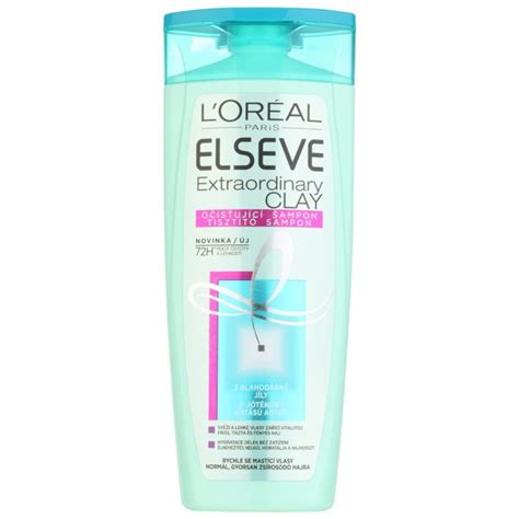 Loreal Extraordinary l or 233 al elseve extraordinary clay purifying shoo